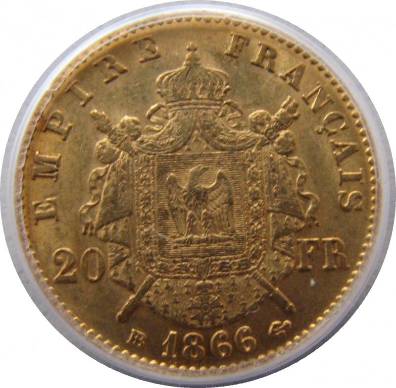 1866 франция наполеон iii золото 6 45 гр