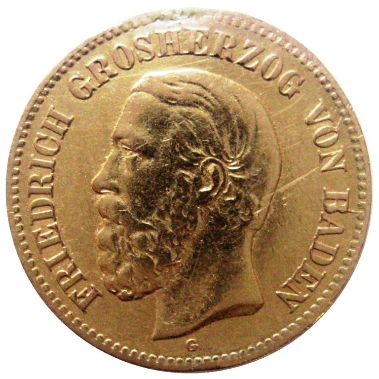 5 марок баден 1877 государственный казначейский билет